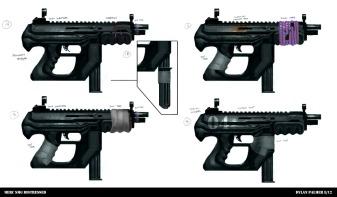Salvage - Submachine Gun